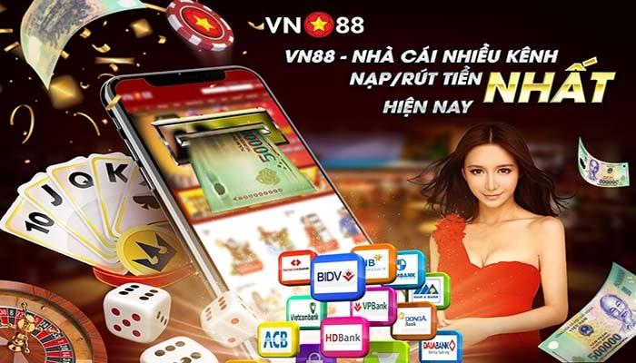 Vn88 nhà cái cá cược uy tín rút thưởng đơn giản nhanh chóng