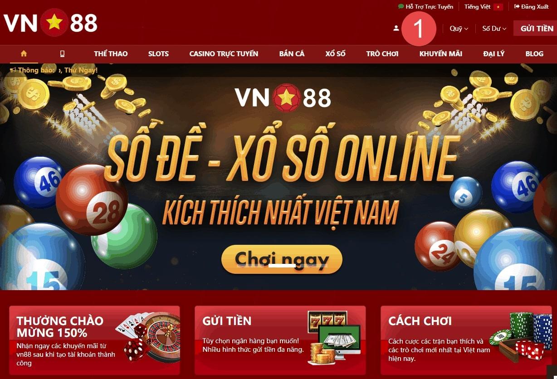 Vn88 nhà cái cá cược uy tín số một dành cho người chơi Việt