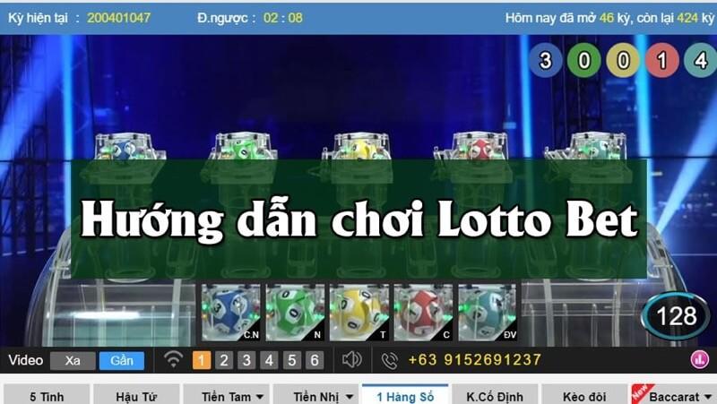 Hướng dẫn cách chơi lotto bet hiệu quả tại vn88
