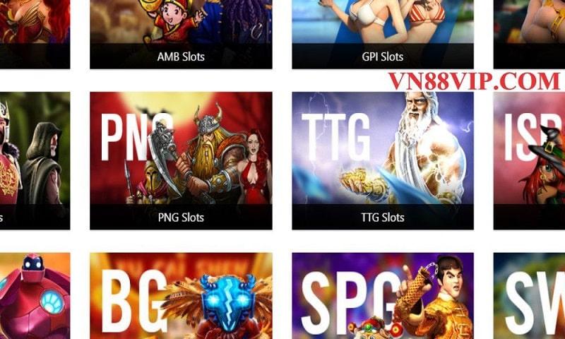 Vn88 nhà cái cá cược cung cấp game slot uy tín chất lượng hàng đầu
